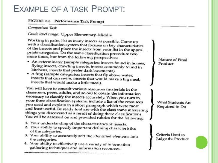 Lesson 5 performance based assessment