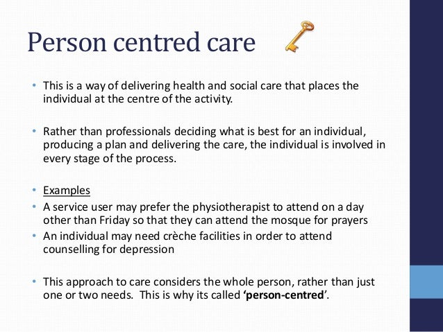 understand person centred approaches 3 essay Person centred framework  our 'person-centred framework' is made up of tools and approaches to help us to  we will try to understand each person's.