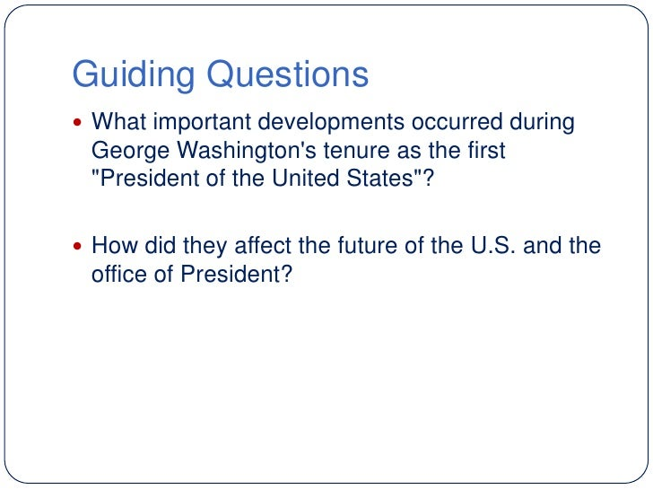 Lesson 5 the president 39 s precedents - Define executive office of the president ...
