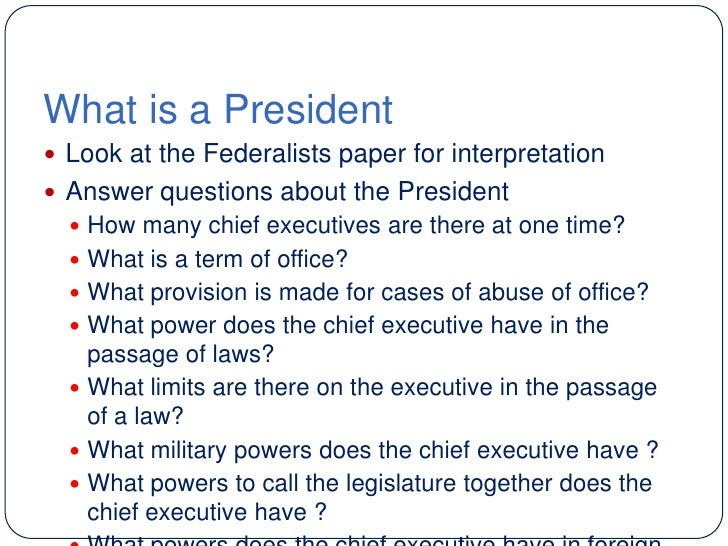 Executive Power Abuse Part 2 >> Lesson 5 The President's Precedents