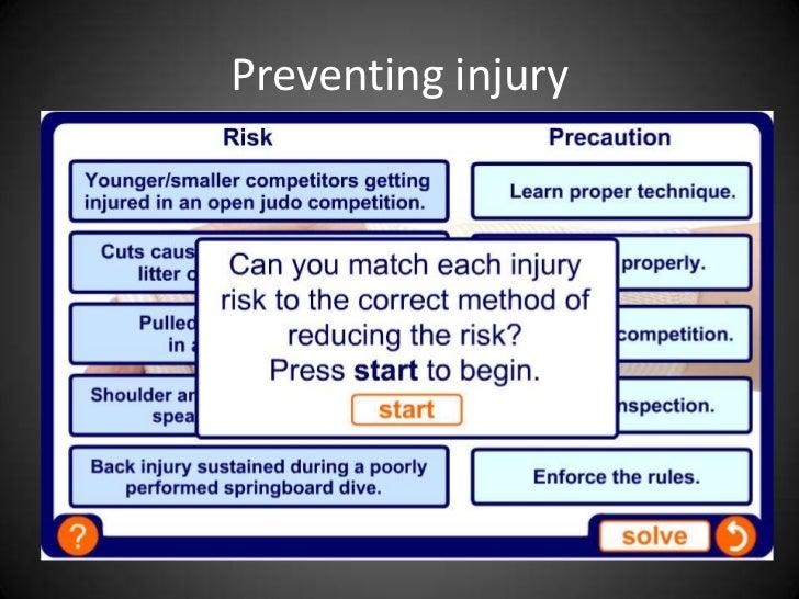 1.2.1 Lesson 6  - risk assessment part 2