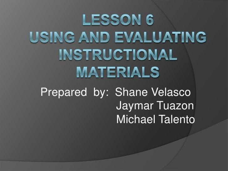 Prepared by: Shane Velasco             Jaymar Tuazon             Michael Talento