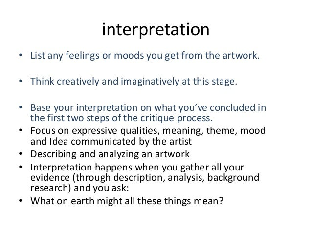 Interpreting Contemporary Art