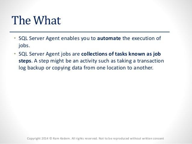 MSSQL Server - Automation Slide 2