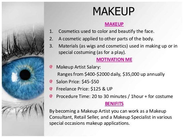 MAKEUP MAKEUP1. Cosmetics used ...