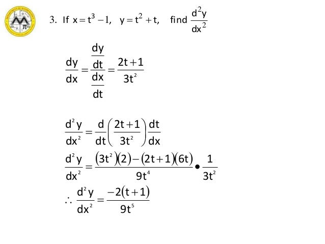 lesson-6-differentials-parametriccurvature-21-638 T Form Example on