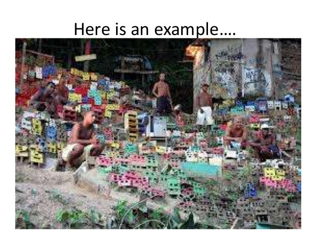 Competition • Using the materials you have sourced, and those provided if you need to try and construct a favela. It needs...
