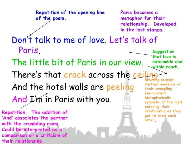 essay metaphors we live