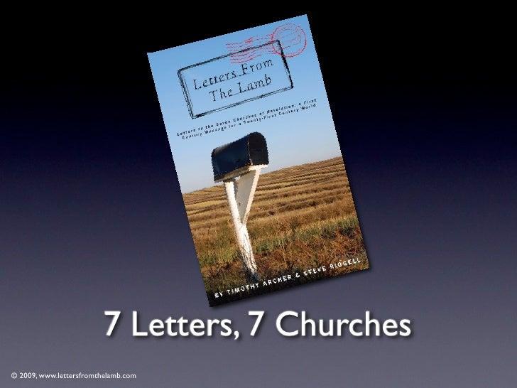 © 2009, www.lettersfromthelamb.com Thyatira