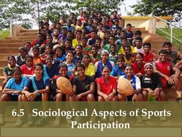 sociology of sports The sociology of sport: what is it and why study it chapter outline about this book about this chapter defining culture and society defining sports.