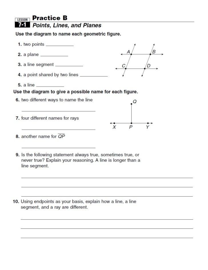 Lesson 7 1 points lines planes