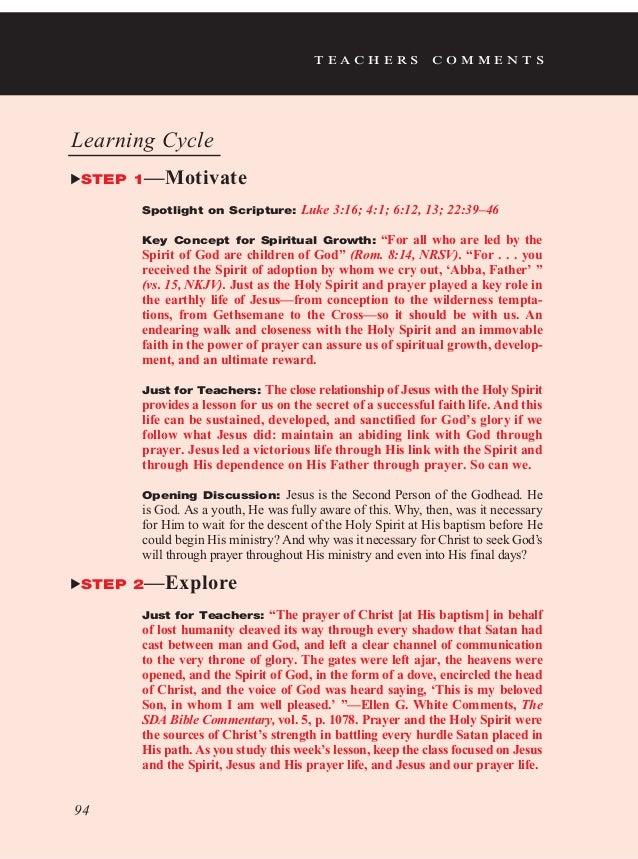 PDF   Lesson 7   Teacher's edition   Jesus, the Holy Spirit
