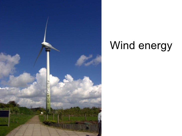 Wind energy 2004