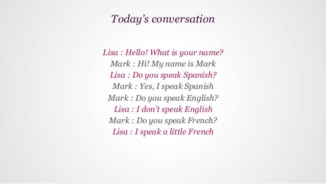 Basic Spanish | Lesson 7 | Which languages do you speak?