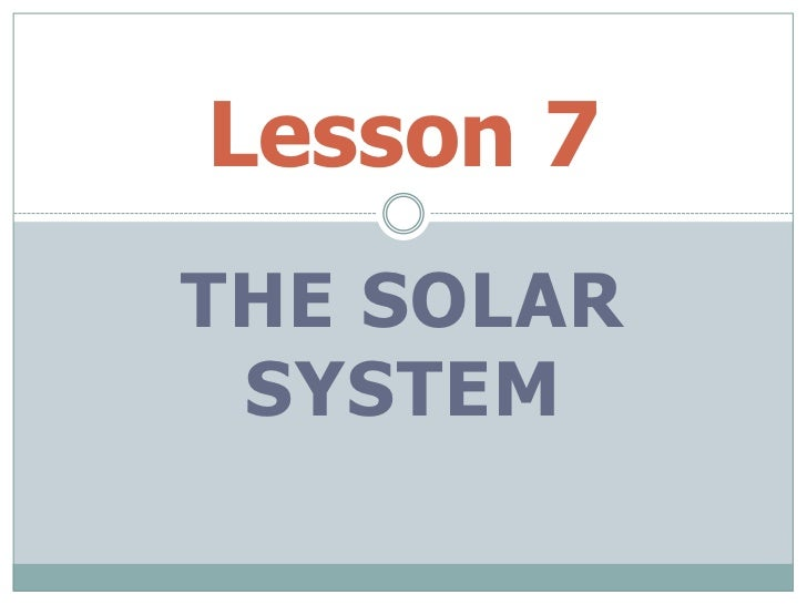 on solar system lesson - photo #27
