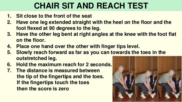 Sit And Reach Test