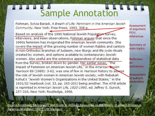 Apa Annotated Bibliography Sample Pdf   Cover Letter Templates World News