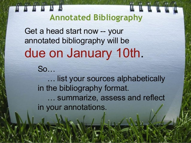annotated bibliography apa cover page   Time Blog Assignment