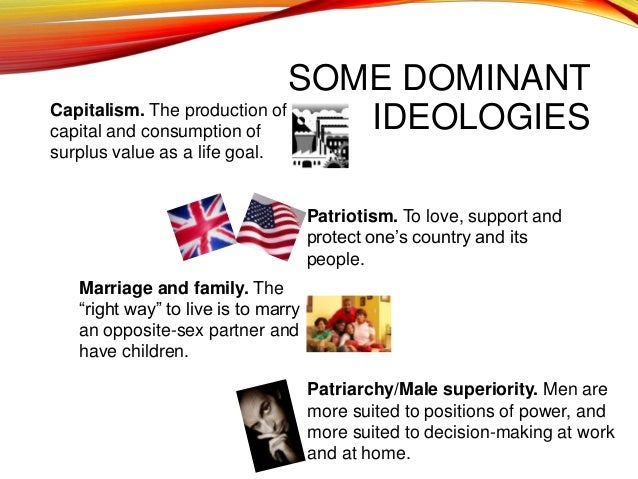 what is the dominant ideology of the family Posts about dominant ideology written by socl120  as i mentioned before,  absolute poverty is the base line that no family should live below.