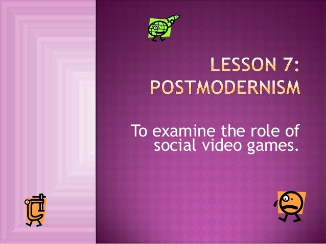To examine the role of   social video games.