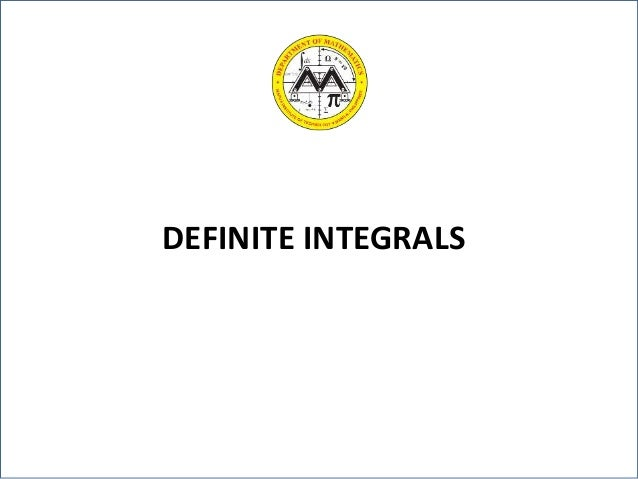 definite integrals The calculator will evaluate the definite (ie with bounds) integral, including  improper, with steps shown.