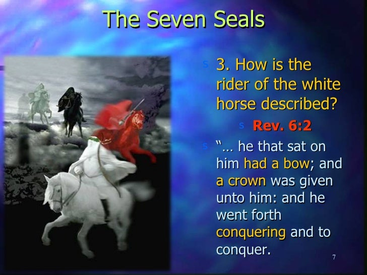 Lesson 9 The Four Horsemen