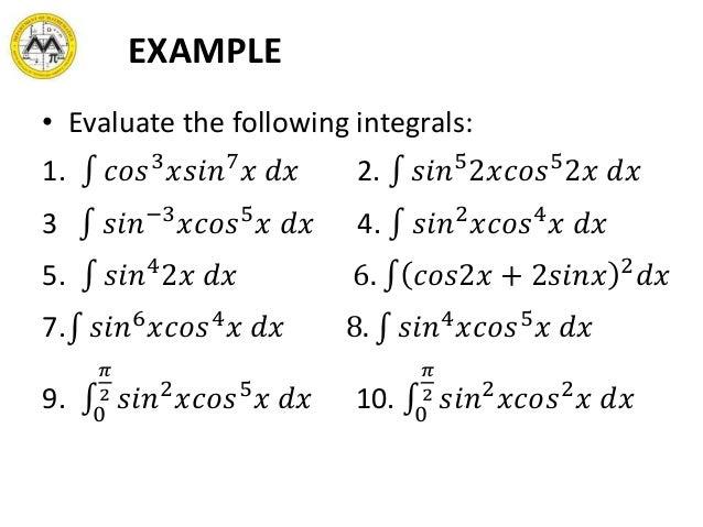 Lesson 9 Transcendental Functions