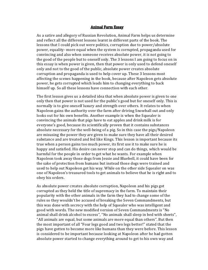 Essay about squealer cruel angel thesis instrumental