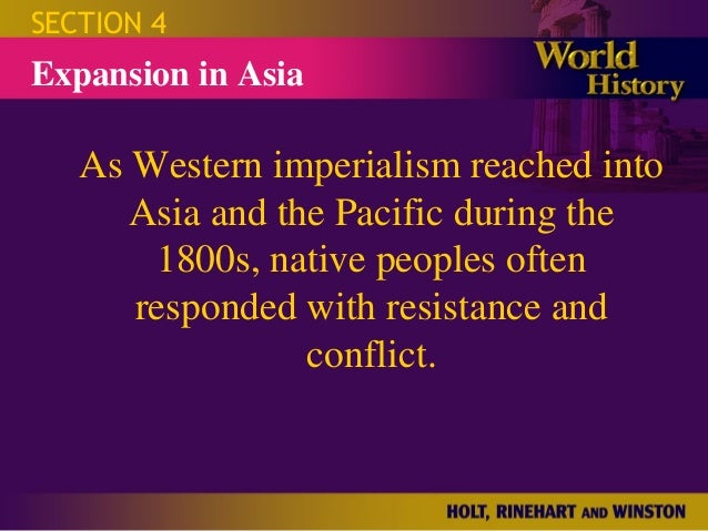 "resistance to western imperialism in asia Southeast asia's egalitarian culture japanese imperialism ignites southeast   southeast asia: ""the western company continued to exploit my people and my  land  their colonial overlords or at least undermining european resistance."