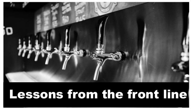 I am a foot soldier in the great beer revolution. I have witnessed the evolution of the revolution from building Beerhouse...