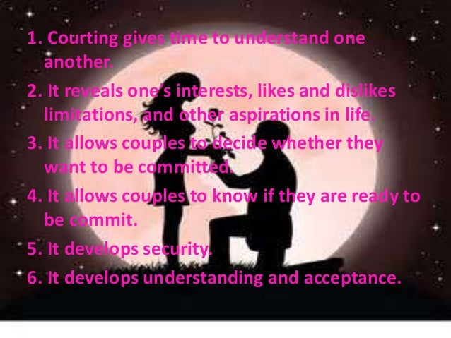 Courtship dating and marriage powerpoint