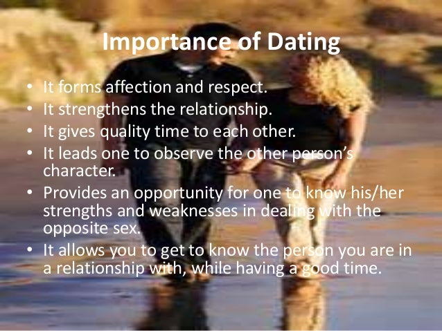 Is a relationship dating