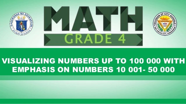 Click to edit Master subtitle style Lesson 1: Visualizing Numbers up to 100 000 with Emphasis on Numbers 10 001-50 000. G ...