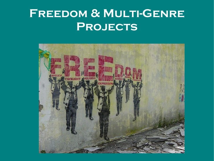 Freedom & Multi-Genre Projects