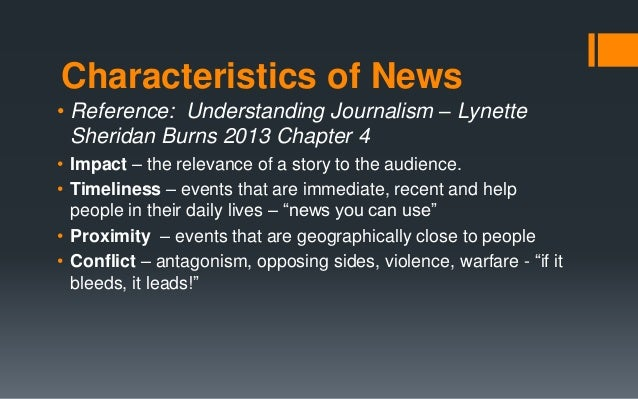 understanding journalism sheridan burns pdf