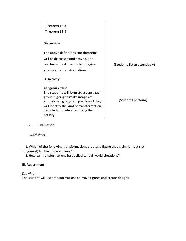 Detailed Lesson Plan (ENGLISH, MATH, SCIENCE, FILIPINO)