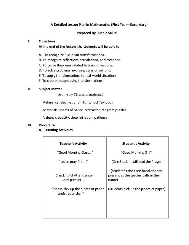 Brief Lesson Plan In Mapeh College Paper Help