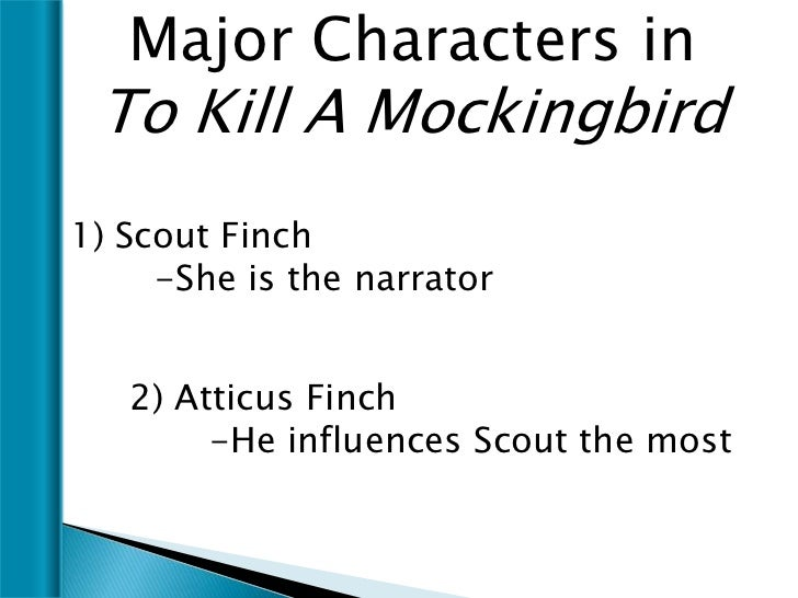 tkam character lesson plan 7 major characters in to kill
