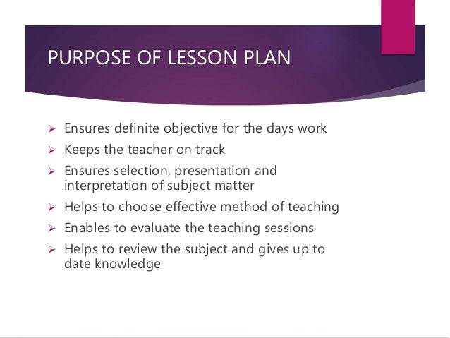Lesson plan nursing education for What is the purpose of a template