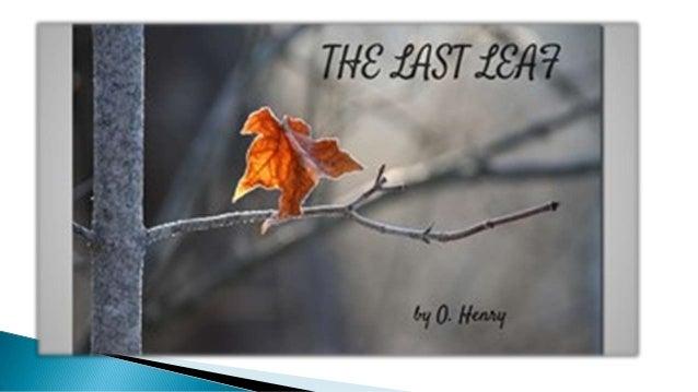the last leaf lesson plan