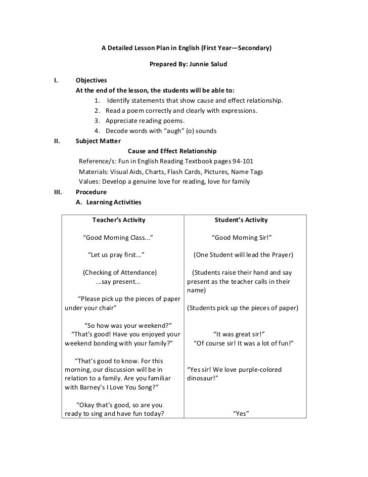 Lesson plans worksheets.
