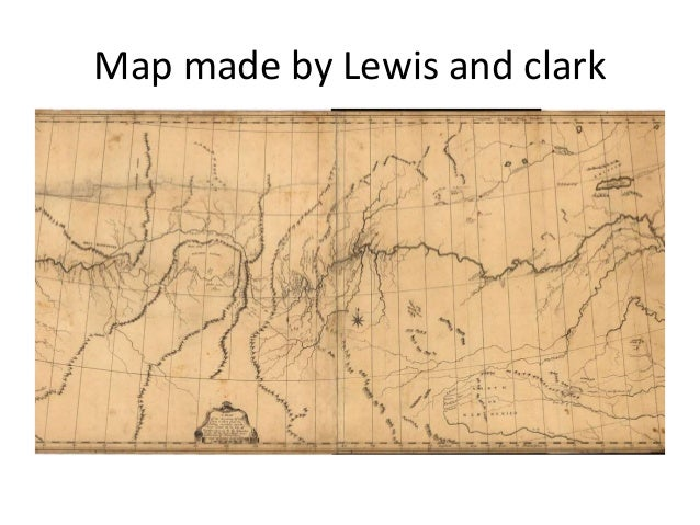 The Lewis And Clark Expedition >> Lesson plan 11 lewis and clark map activity and lesson