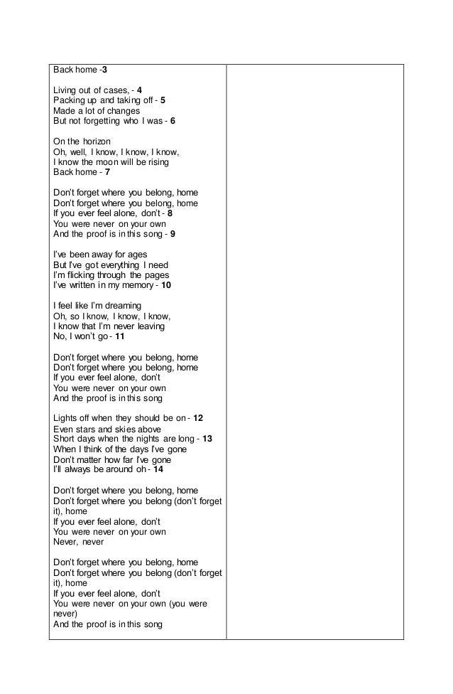 Lesson Plan for Lyric Poetry