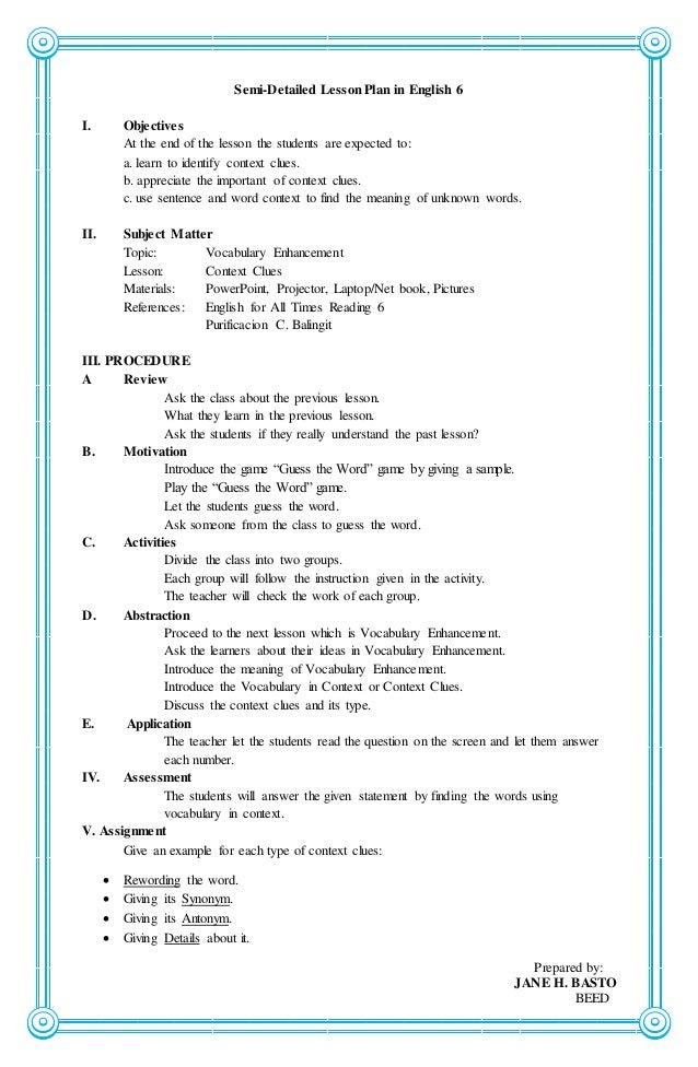 esol lesson plan template - high school lesson plan format 1000 ideas about lesson