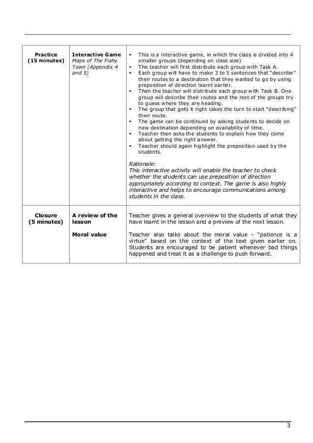 Lesson plan english 2 Slide 3