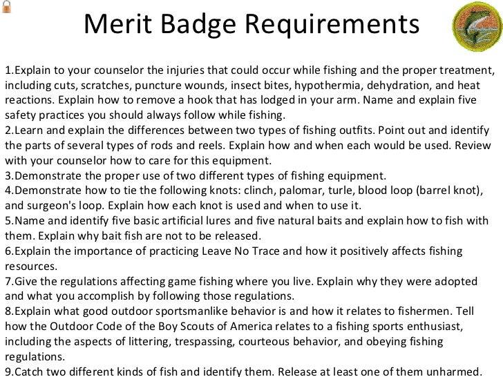 Fly Fishing Merit Badge