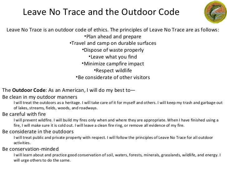 Image result for outdoor code bsa