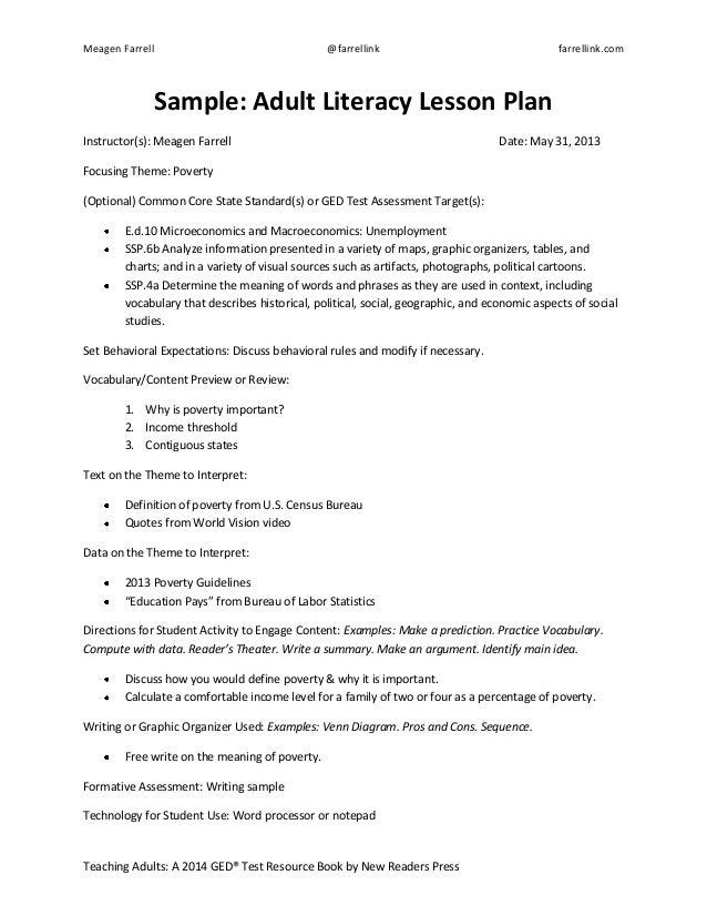 Amazing Sample Common Core Lesson Plan Ideas - Best Resume
