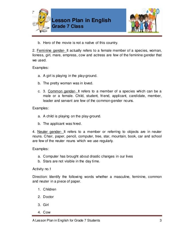 lesson plan in english 3 3rd grade math lesson plan 3 types of resources lesson plan our community relies on different kinds of resources to operate successfully in this lesson, your help your students avoid the dreaded sentence fragment with this lesson that gives young writers the building blocks they need to succeed in english class.