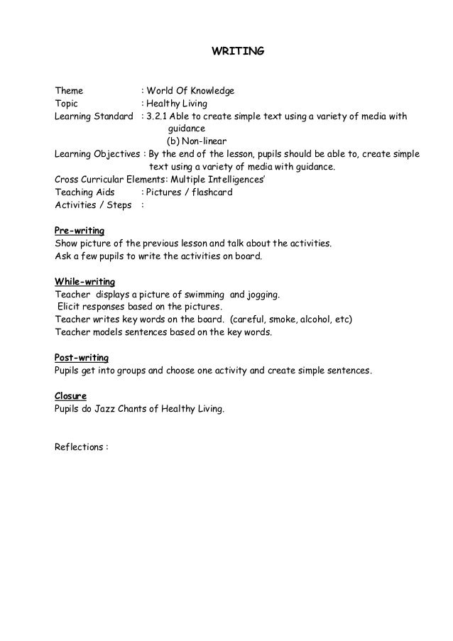 Letter Writing Plan Year     writing a cover letter lesson plan